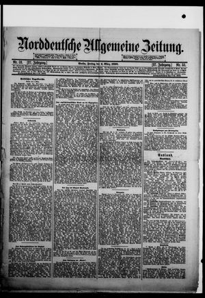 Norddeutsche allgemeine Zeitung vom 04.03.1898