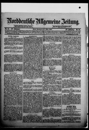 Norddeutsche allgemeine Zeitung vom 05.03.1898