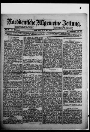Norddeutsche allgemeine Zeitung vom 11.03.1898