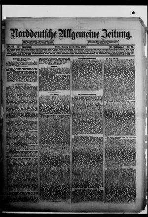 Norddeutsche allgemeine Zeitung vom 13.03.1898