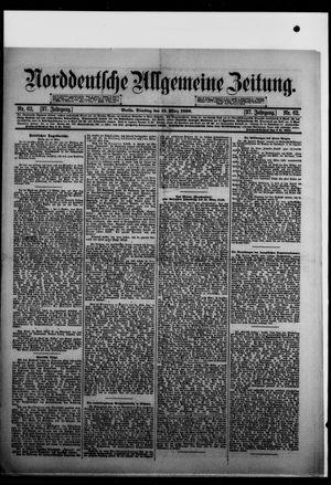 Norddeutsche allgemeine Zeitung vom 15.03.1898