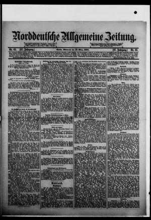 Norddeutsche allgemeine Zeitung vom 16.03.1898