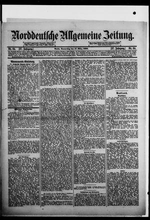 Norddeutsche allgemeine Zeitung vom 17.03.1898