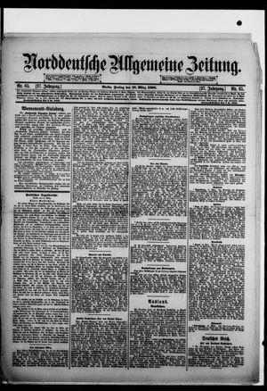 Norddeutsche allgemeine Zeitung vom 18.03.1898