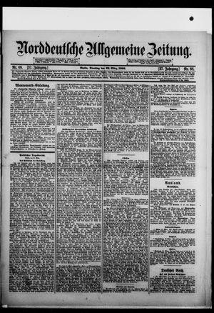 Norddeutsche allgemeine Zeitung vom 22.03.1898