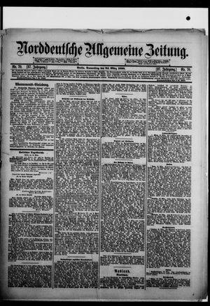 Norddeutsche allgemeine Zeitung vom 24.03.1898