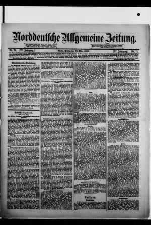 Norddeutsche allgemeine Zeitung vom 25.03.1898