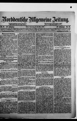 Norddeutsche allgemeine Zeitung vom 31.03.1898