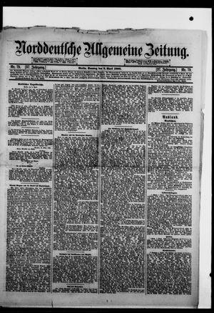 Norddeutsche allgemeine Zeitung vom 03.04.1898
