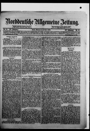 Norddeutsche allgemeine Zeitung vom 06.04.1898