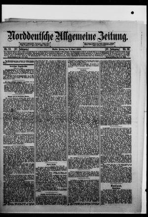 Norddeutsche allgemeine Zeitung vom 08.04.1898