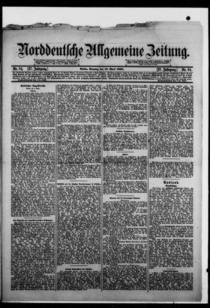 Norddeutsche allgemeine Zeitung vom 10.04.1898