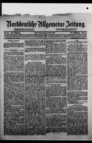 Norddeutsche allgemeine Zeitung on Apr 13, 1898