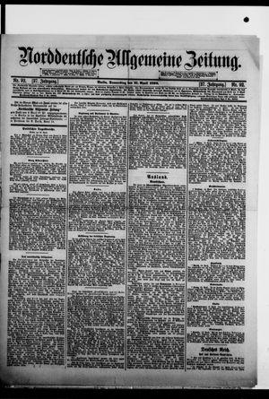 Norddeutsche allgemeine Zeitung vom 21.04.1898