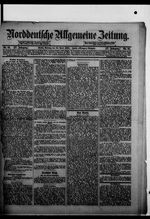 Norddeutsche allgemeine Zeitung vom 24.04.1898