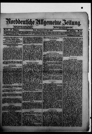 Norddeutsche allgemeine Zeitung vom 27.04.1898
