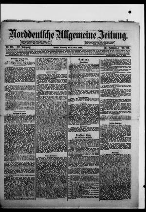 Norddeutsche allgemeine Zeitung vom 03.05.1898
