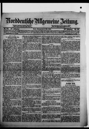 Norddeutsche allgemeine Zeitung on May 4, 1898