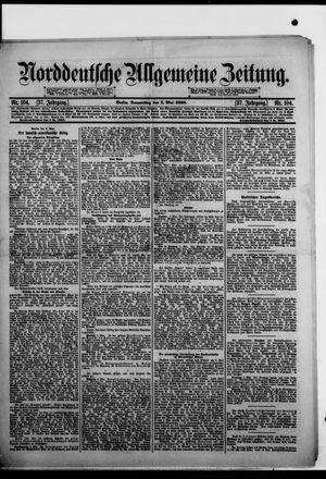 Norddeutsche allgemeine Zeitung on May 5, 1898