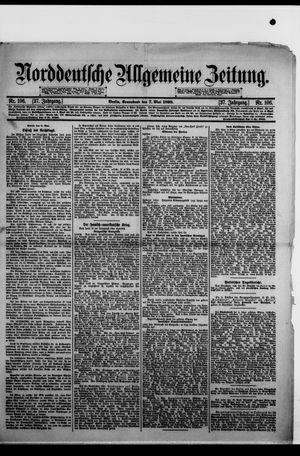 Norddeutsche allgemeine Zeitung on May 7, 1898