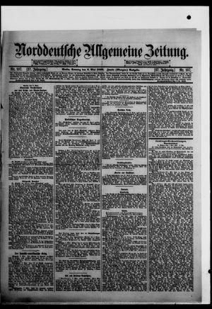 Norddeutsche allgemeine Zeitung vom 08.05.1898