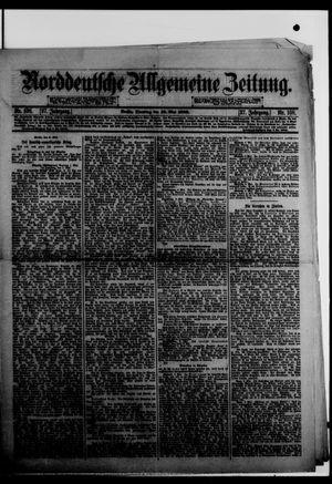 Norddeutsche allgemeine Zeitung vom 10.05.1898