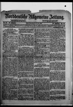 Norddeutsche allgemeine Zeitung vom 12.05.1898