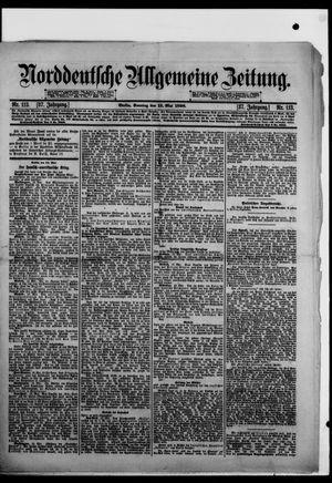 Norddeutsche allgemeine Zeitung vom 15.05.1898