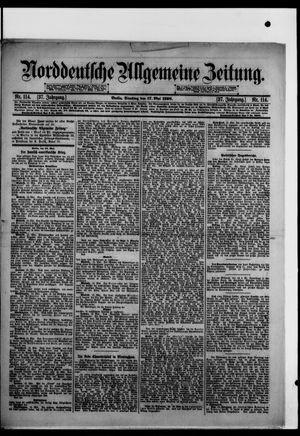 Norddeutsche allgemeine Zeitung vom 17.05.1898