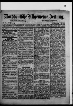 Norddeutsche allgemeine Zeitung vom 19.05.1898