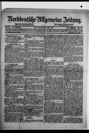 Norddeutsche allgemeine Zeitung vom 21.05.1898