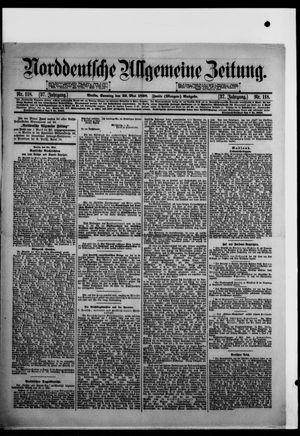 Norddeutsche allgemeine Zeitung vom 22.05.1898
