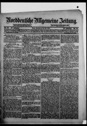 Norddeutsche allgemeine Zeitung vom 24.05.1898