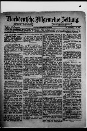 Norddeutsche allgemeine Zeitung vom 25.05.1898
