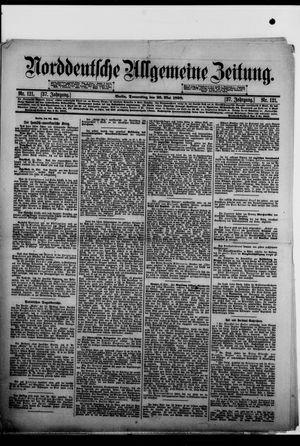 Norddeutsche allgemeine Zeitung vom 26.05.1898