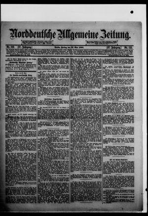 Norddeutsche allgemeine Zeitung vom 27.05.1898