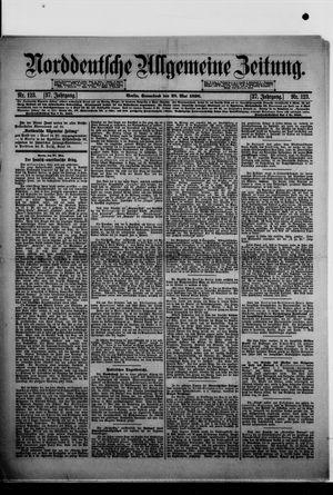 Norddeutsche allgemeine Zeitung vom 28.05.1898