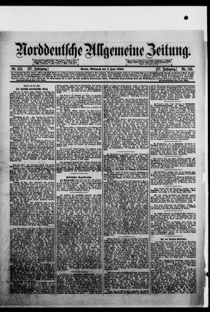 Norddeutsche allgemeine Zeitung vom 01.06.1898