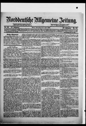 Norddeutsche allgemeine Zeitung vom 02.06.1898