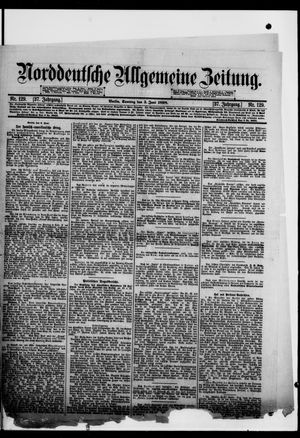 Norddeutsche allgemeine Zeitung vom 05.06.1898