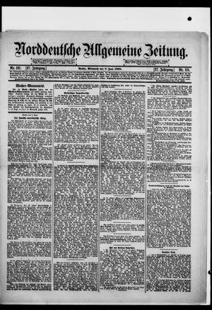 Norddeutsche allgemeine Zeitung vom 08.06.1898