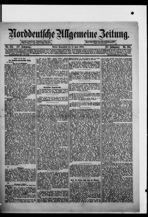 Norddeutsche allgemeine Zeitung vom 11.06.1898