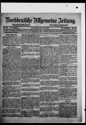 Norddeutsche allgemeine Zeitung vom 14.06.1898