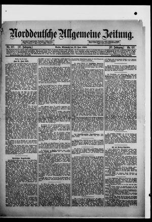 Norddeutsche allgemeine Zeitung vom 15.06.1898