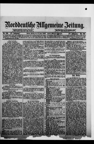Norddeutsche allgemeine Zeitung on Jun 17, 1898