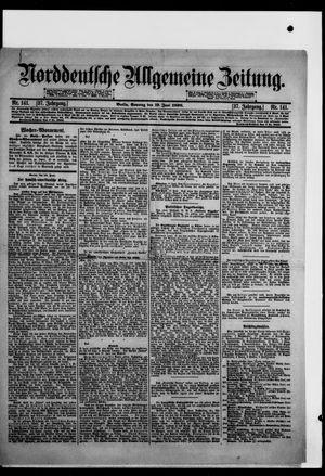 Norddeutsche allgemeine Zeitung vom 19.06.1898
