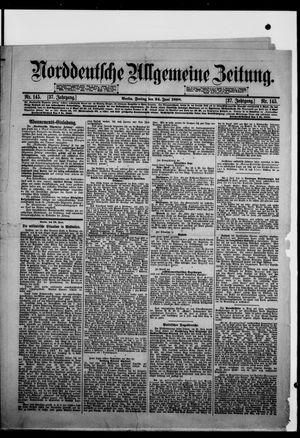 Norddeutsche allgemeine Zeitung vom 24.06.1898