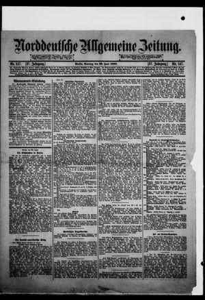 Norddeutsche allgemeine Zeitung vom 26.06.1898