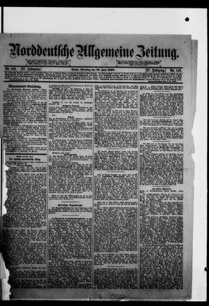 Norddeutsche allgemeine Zeitung vom 28.06.1898