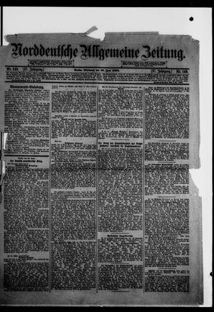 Norddeutsche allgemeine Zeitung vom 29.06.1898
